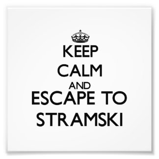 Keep calm and escape to Stramski Massachusetts Photograph