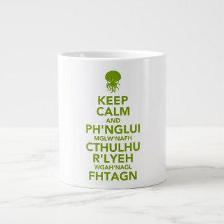 Keep Calm and Fhtagn Jumbo Mug