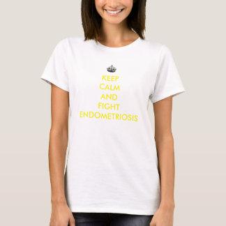 Keep Calm and Fight Endometriosis Shirt