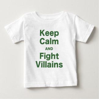Keep Calm and Fight Villains Shirts
