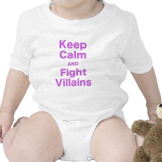 Keep Calm and Fight Villains T-shirts