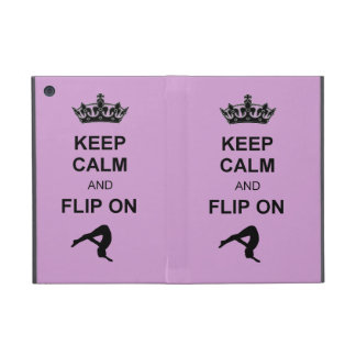 Keep Calm and Flip on iPad Mini Case