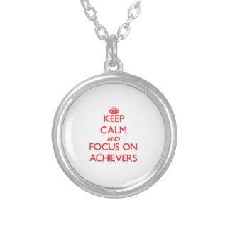 Keep calm and focus on ACHIEVERS Custom Jewelry