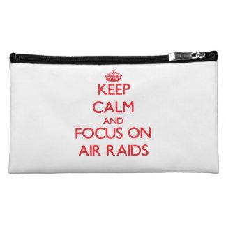 Keep calm and focus on AIR RAIDS Cosmetic Bag