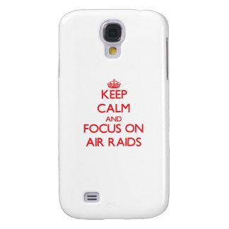 Keep calm and focus on AIR RAIDS HTC Vivid / Raider 4G Case