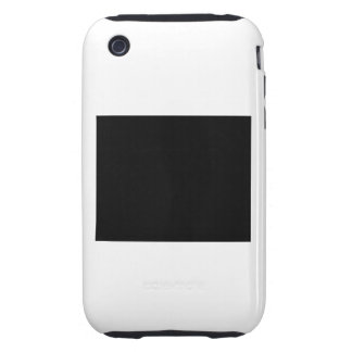 Keep calm and focus on ALIENATION iPhone 3 Tough Case