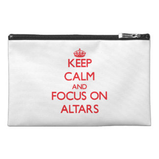 Keep calm and focus on ALTARS Travel Accessories Bag