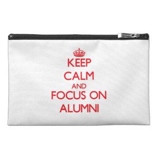 Keep calm and focus on ALUMNI Travel Accessory Bag