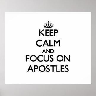 Keep Calm And Focus On Apostles Print