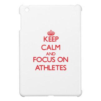 Keep calm and focus on ATHLETES iPad Mini Cases