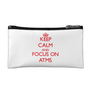Keep calm and focus on ATMS Makeup Bags