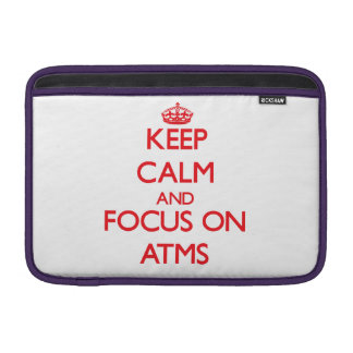 Keep calm and focus on ATMS Sleeve For MacBook Air