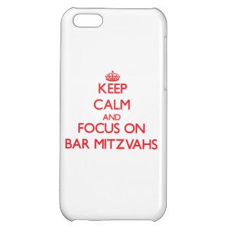 Keep Calm and focus on Bar Mitzvahs iPhone 5C Case