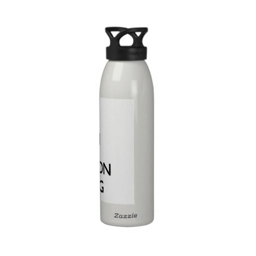 Keep Calm and focus on Beeping Water Bottle