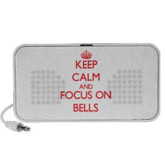 Keep Calm and focus on Bells iPod Speaker