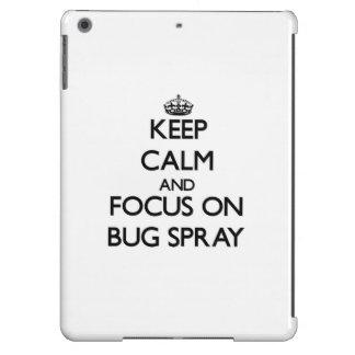 Keep Calm and focus on Bug Spray iPad Air Case