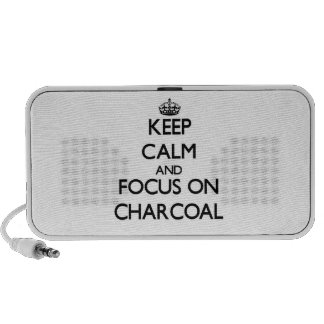 Keep Calm and focus on Charcoal Speaker