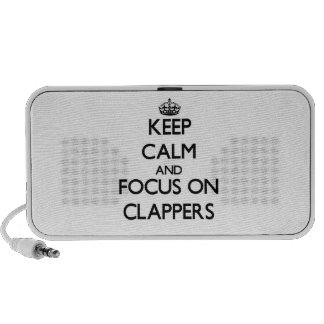 Keep Calm and focus on Clappers Speakers