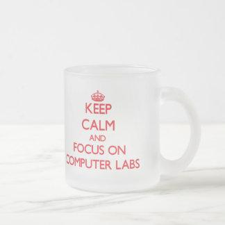 Keep Calm and focus on Computer Labs Mugs