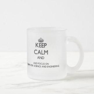 Keep calm and focus on Computer Science And Engine Coffee Mug