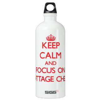 Keep Calm and focus on Cottage Cheese SIGG Traveller 1.0L Water Bottle