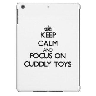 Keep Calm and focus on Cuddly Toys iPad Air Cases