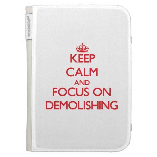 Keep Calm and focus on Demolishing Kindle Keyboard Covers
