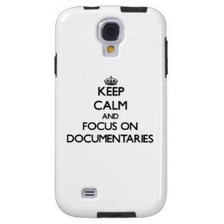 Keep Calm and focus on Documentaries