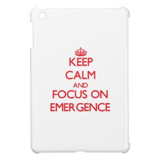 Keep Calm and focus on EMERGENCE iPad Mini Case