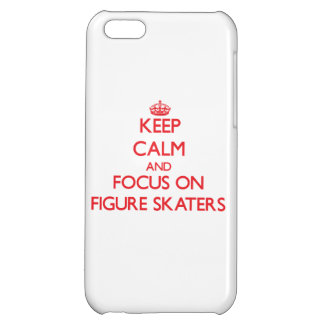 Keep Calm and focus on Figure Skaters iPhone 5C Case