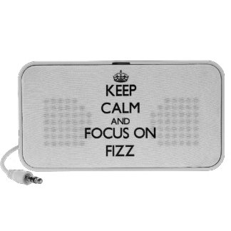 Keep Calm and focus on Fizz Portable Speaker