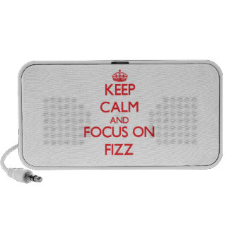 Keep Calm and focus on Fizz Mini Speaker