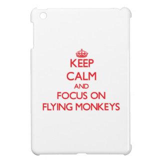 Keep Calm and focus on Flying Monkeys iPad Mini Covers