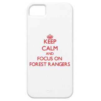 Keep Calm and focus on Forest Rangers Case For iPhone 5/5S