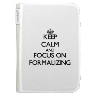 Keep Calm and focus on Formalizing Kindle Keyboard Cases