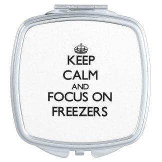 Keep Calm and focus on Freezers Vanity Mirrors