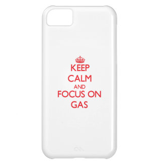 Keep Calm and focus on Gas iPhone 5C Cases