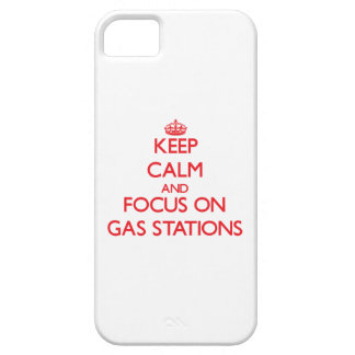 Keep Calm and focus on Gas Stations iPhone 5 Case