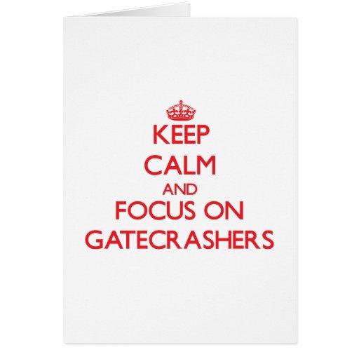 Keep Calm and focus on Gatecrashers Cards