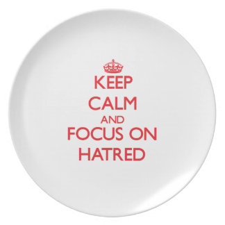 Keep Calm and focus on Hatred Plates