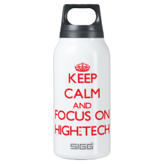 Keep Calm and focus on High-Tech 10 Oz Insulated SIGG Thermos Water Bottle