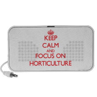 Keep Calm and focus on Horticulture Travel Speaker