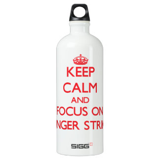 Keep Calm and focus on Hunger Strikes SIGG Traveller 1.0L Water Bottle