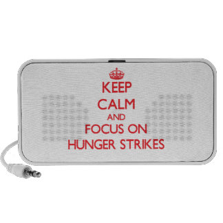 Keep Calm and focus on Hunger Strikes PC Speakers