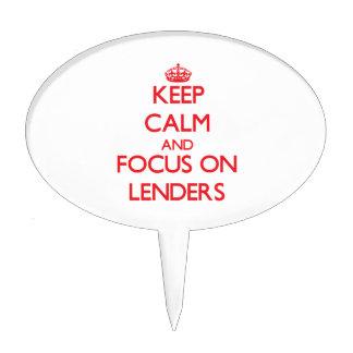 Keep Calm and focus on Lenders Cake Picks