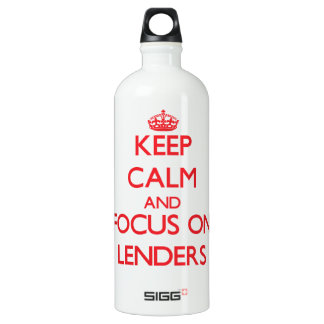 Keep Calm and focus on Lenders SIGG Traveller 1.0L Water Bottle