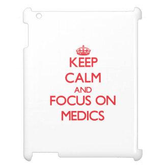 Keep Calm and focus on Medics iPad Case