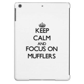 Keep Calm and focus on Mufflers iPad Air Cover