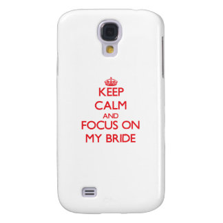 Keep calm and focus on MY BRIDE HTC Vivid Case