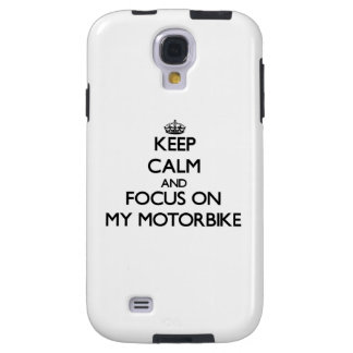 Keep Calm and focus on My Motorbike
